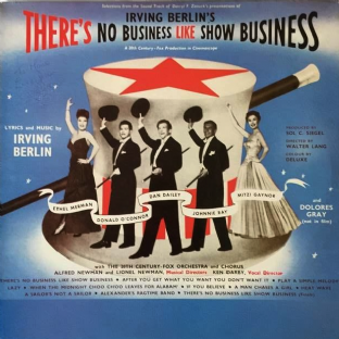 V/A ‎- Irving Berlin's There's No Business Like Show Business (LP) (EX-VG)